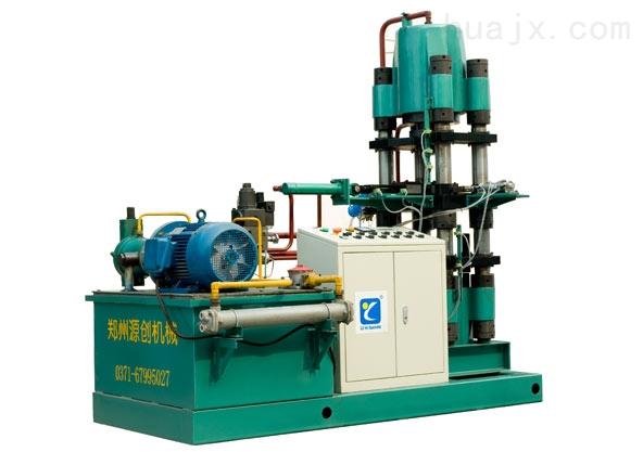 郑州源创机械设备有限公司 咨询电话:周经理 135-9882-1773 或登录www.zzyccc。。com 200吨油压机的主要参数: 公称压力:2000KN 系统压力:25mpa 最大行程:400mm 最大开口:600mm 工作台面:660 mm×660mm 200吨油压机的适用领域 本系列油压机为200吨四柱油压机,是一款万能型油压机,并可适用于可塑材料的拉伸,弯曲、翻边、冷挤、冲裁等工艺,还适用于校正、压装、粉末制品、磨料制品压制成形以及塑料制品、绝缘材料的压制成形。 200吨油压机的