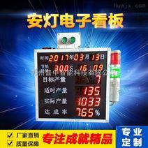 安灯系统生产车间目标产量电子生产看板流水线LED电子显示屏
