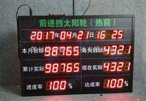 生产目标进度达成率监控看板生产线管理看板LED电子看板