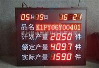 LED生产管理看板工厂车间生产线进度管理LED显示屏