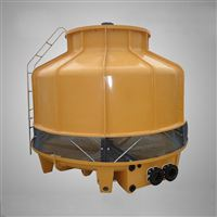 250T圆形逆流式标准冷却塔 空压机用凉水塔 深圳东莞佛山冷水塔厂家